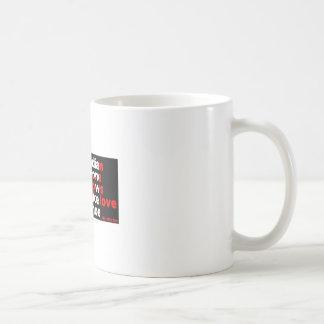Herstellung der Liebe in einem Kanu Kaffeetasse