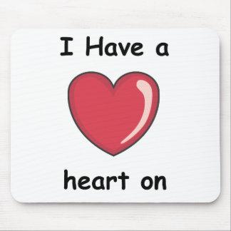 Herz an mauspads