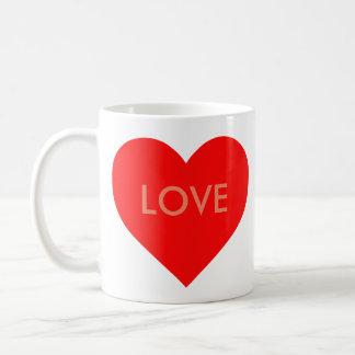 Herz (Anpassbar) Kaffeetasse