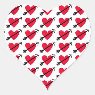 Herz-Aufkleber
