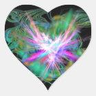 Herz Aufkleber positive Energie