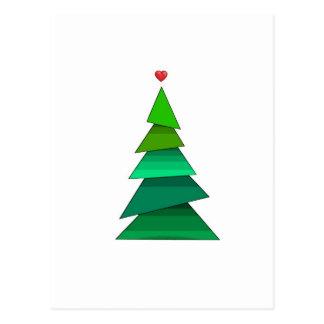 Herz-Baum Postkarte