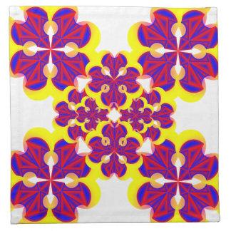 Herz-Blumen (minimal) durch Kenneth Yoncich Servietten