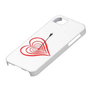 Herz Dartscheibe mit Pfeil Hülle Fürs iPhone 5