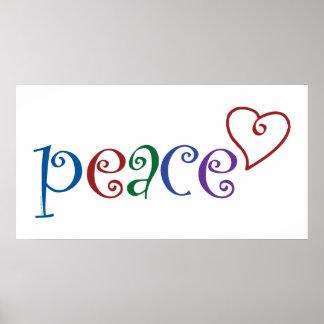 Herz der Liebe Frieden