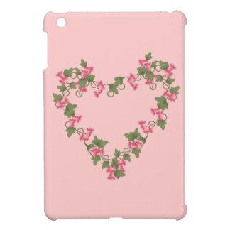 Herz der rosa Blumen iPad Mini Hülle