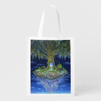 """""""Herz des Baums"""" wiederverwendbare Tasche Wiederverwendbare Einkaufstasche"""