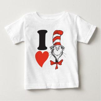 Herz Dr.-Seuss Valentine | I die Katze im Hut Baby T-shirt
