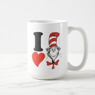 Herz Dr.-Seuss Valentine | I die Katze im Hut Kaffeetasse