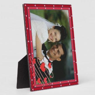 Herz-Foto-Rahmen Fotoplatte