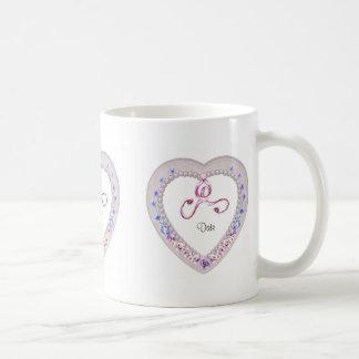 Herz-Gastgeschenk Hochzeits-Tasse