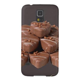 Herz-geformte Schokoladen Samsung Galaxy S5 Hüllen