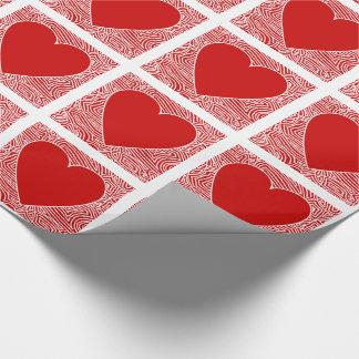 Herz Geschenkpapier