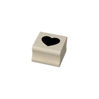 Herz-Gummi-Briefmarke Gummistempel