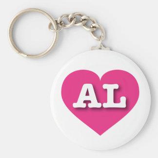 Herz heißen Rosas Alabamas - große Liebe Schlüsselanhänger