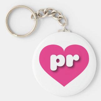 Herz heißen Rosas Puertos Rico - MiniLiebe Schlüsselanhänger