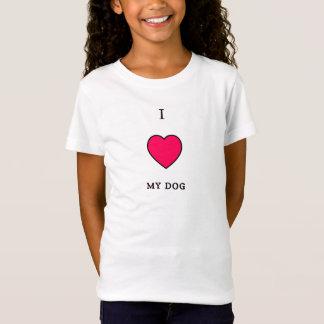 Herz I mein Hund T-Shirt