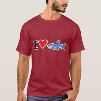 Herz I shaaark T - Shirt 2