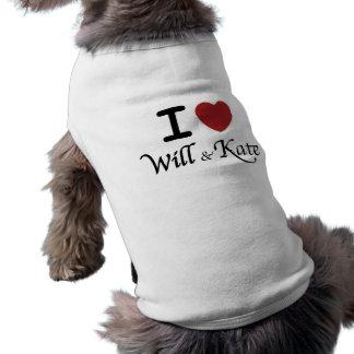 Herz I werden und Kate HundeT - Shirt