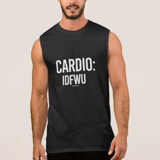 Herz - IDFWU -   Trainings-Fitness - .png Ärmelloses Shirt