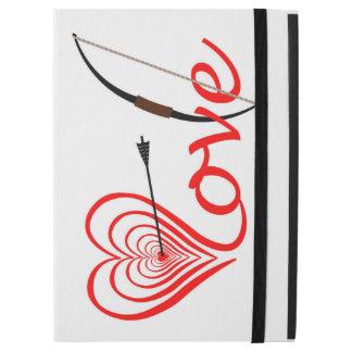 Herz Liebe Dartscheibe mit Pfeil und Bogen