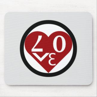 Herz-Liebe Mousepad