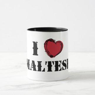 (Herz) maltesische Tasse I