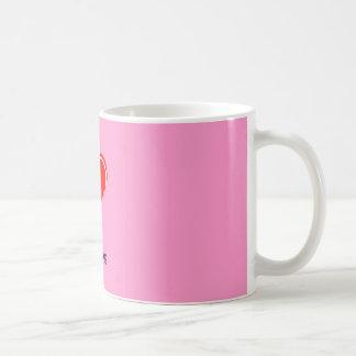 Herz, mein Hund Tee Tasse