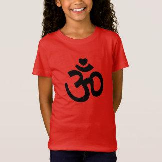 Herz OM unterzeichnen - Kinderyoga-T-Shirts T-Shirt