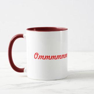 Herz OM unterzeichnen - Yoga-Kaffee-Tasse Tasse
