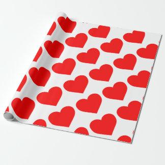 Herz-Packpapier Geschenkpapier