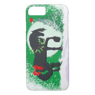 Herz-Pferde VI (Feiertags-Baum) iPhone 7 Hülle