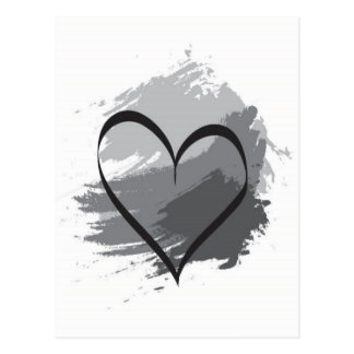 Herz Postkarte