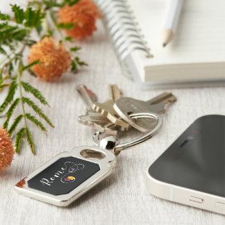 Herz-Rom-Schlüsselring, Italien, italienisch Schlüsselanhänger