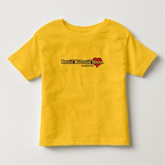 Herz Ronald McDonald Kleinkinder T-shirt