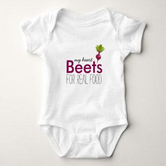 Herz-Rüben-Baby Baby Strampler