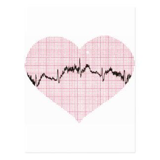 Herz-Schlag III Postkarte