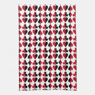 Herz-Spaten-Diamant-Verein Handtuch
