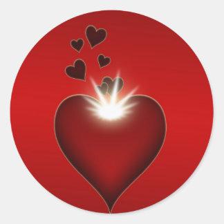 Herz Sticker