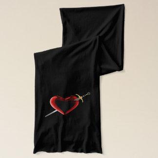 Herz-u. Dolch-Schal Schal