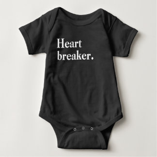 Herz-Unterbrecher Baby Strampler