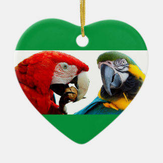 Herz-Verzierung für Weihnachtsbaum Keramik Ornament