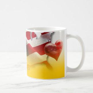 Herz von Amerika - Tasse