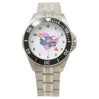 Herz von EMS Armbanduhr