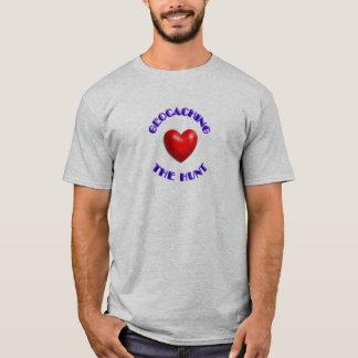 Herz, welches… die Jagd geocaching ist T-Shirt