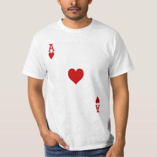 Herzass Spielkarte T-Shirt