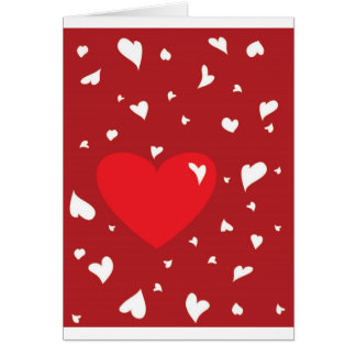 Herzen Grußkarte