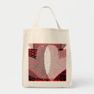Herzen in der Blumen-Taschen-Tasche Tragetasche