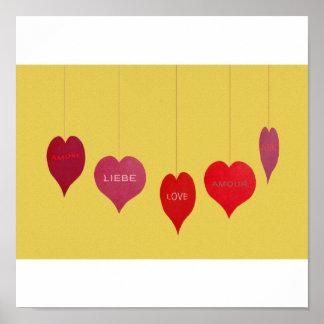 Herzen Poster