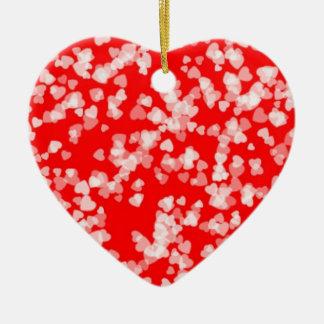 Herzen reichlich keramik Herz-Ornament